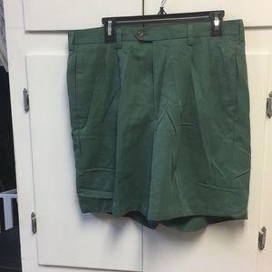 Haggar khaki shorts